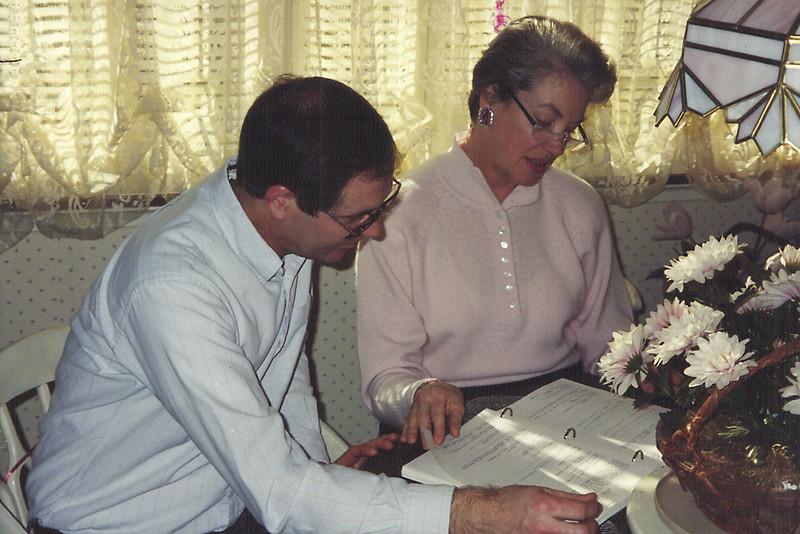 David Vollenweider and Beth Garcia