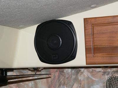 New stereo speakers.