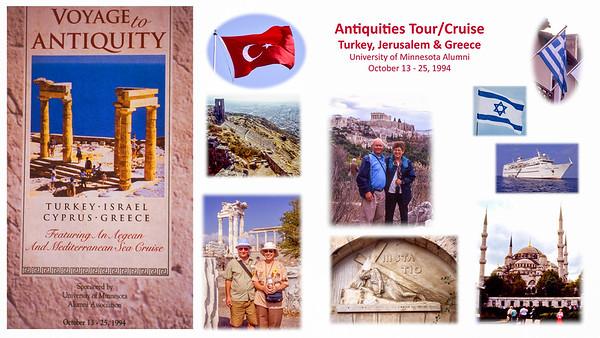 1994 Antiquities Tour - Turkey, Israel & Greece
