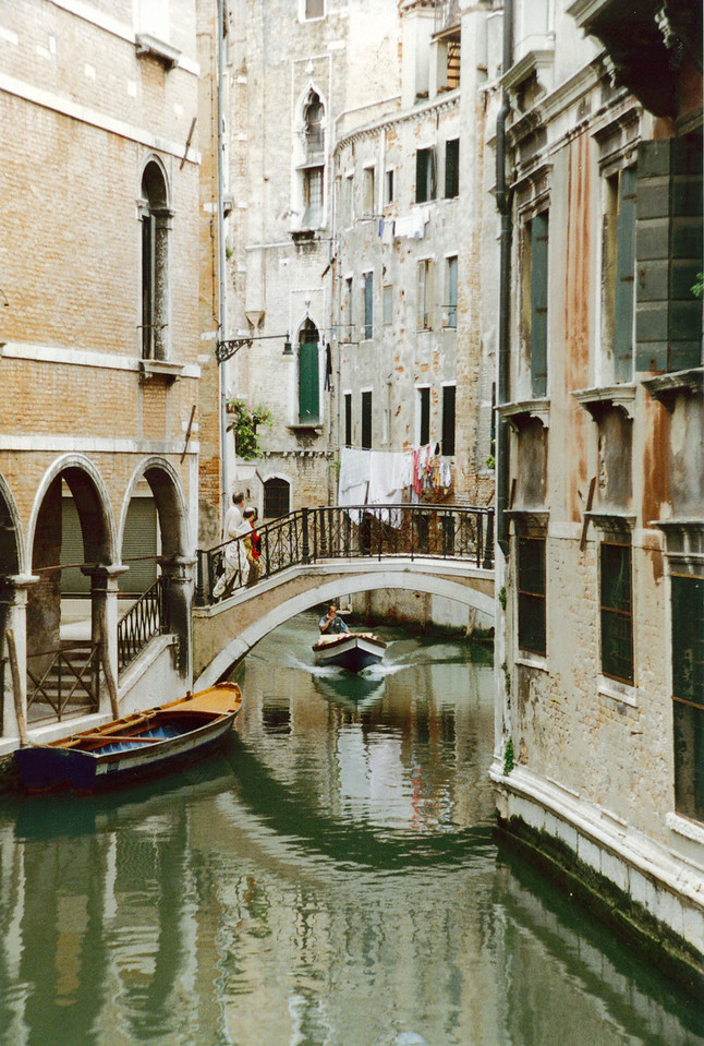 Venice: The back streets.