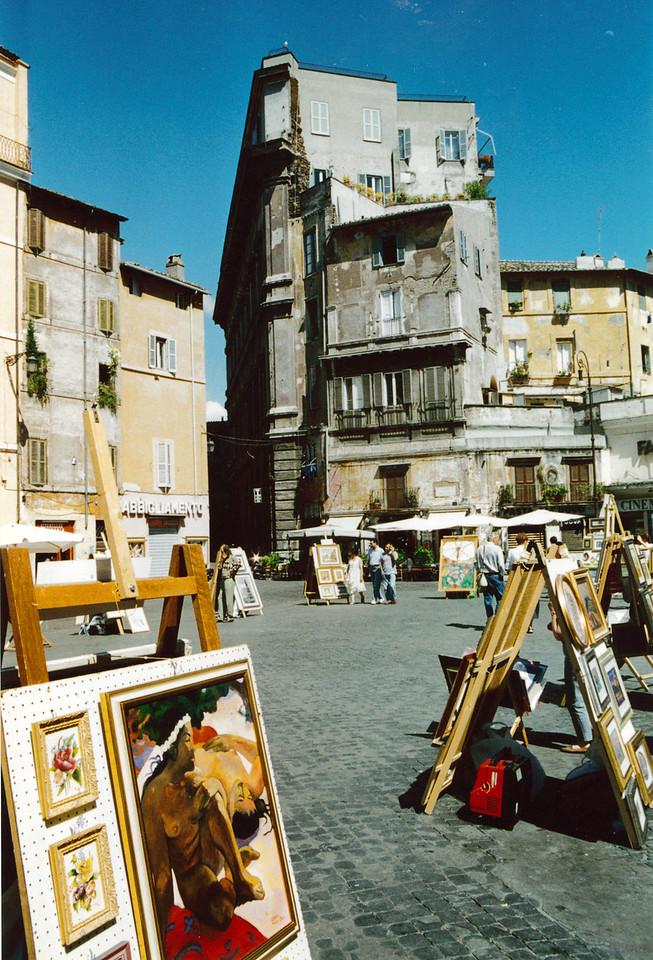 Rome: Piazza di Spagna.
