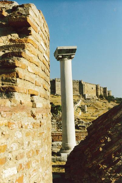 Turkey: The ruins of Ephesus at Kusadasi on the West coast of Turkey.