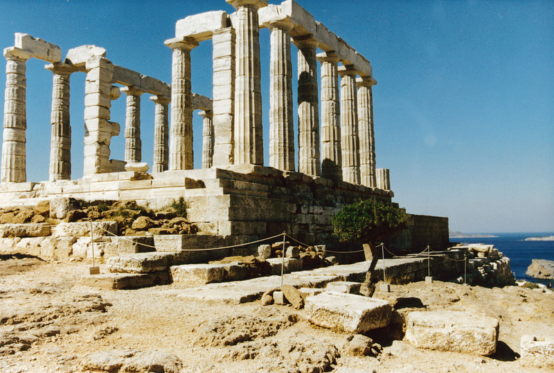 Greece: Temple of Poseidon about 40 miles outside of Athens.