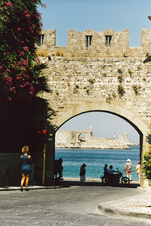 Greece: The Island of Rhodes.