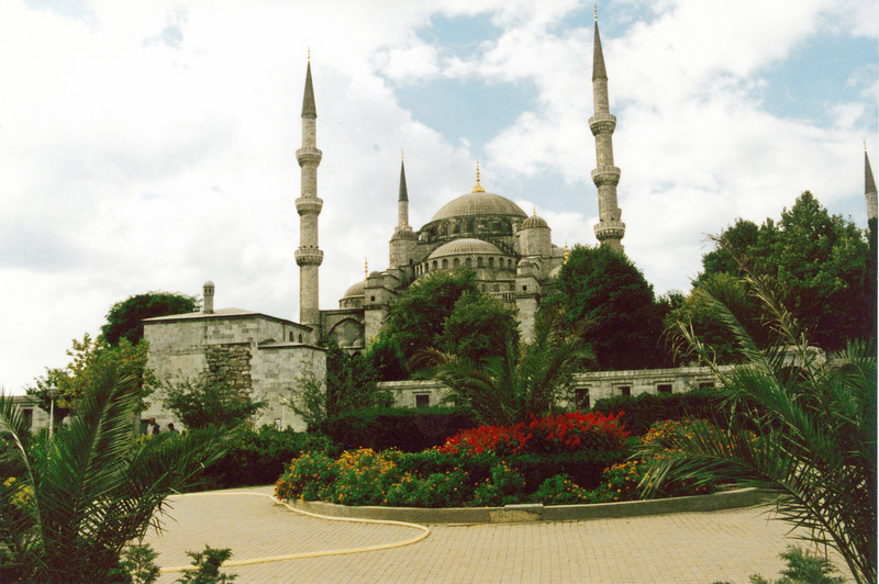 Turkey: The Blue Mosque in Instanbul.