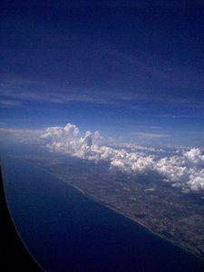 More Florida coastline.