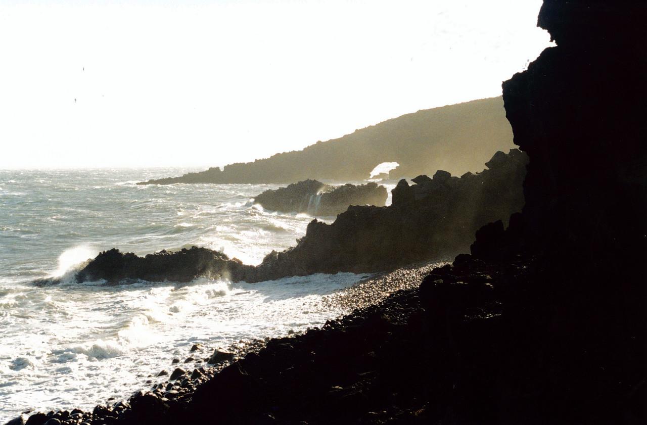 Maui: Another iew of the rugged Hana coastline.