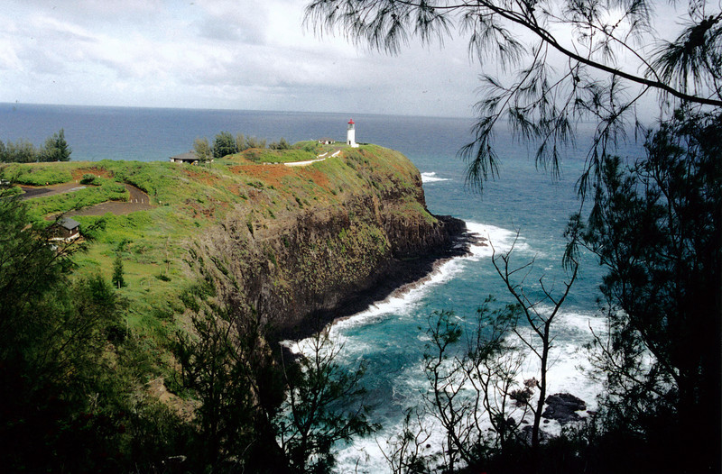 Kauai: Kilauea Point Lighthouse at the northernmost point in the Hawaiian Islands.
