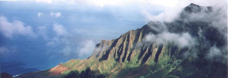 Kauai: The Na Pali Coast a great place to end the tour.