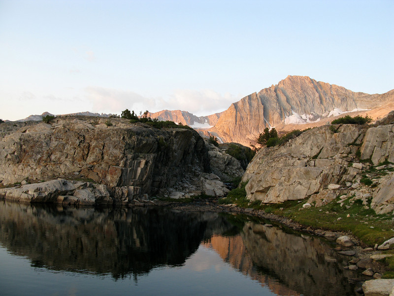 alpinglow on north peak