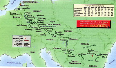 Black Sea to North Sea--2005