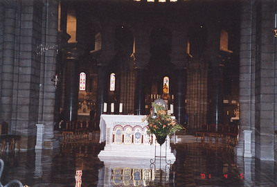 Altar where Grace Kelly and Prince Rainier were married