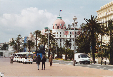 Hotel Negresco, famous hotel built pre-World War I