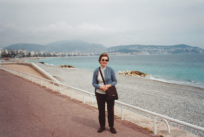On Promenade in front of hotel