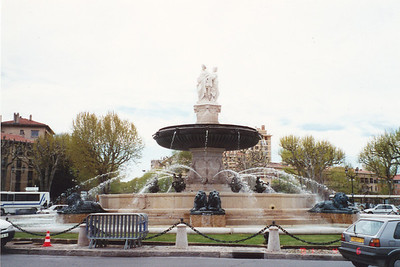 One of 1,000 fountains in the city