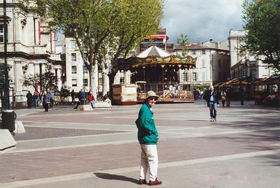 Avignon--Place de l' Horloge, a Town Square near the Papal Palace