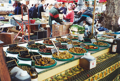 Olives in Farmers Market