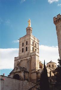 Spire of Notre Dame-des-Doms Cathedral