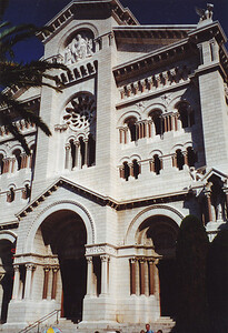 Monaco--Cathedral of St. Nicholas, 19th Century
