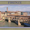 Arno River--Ponte Vecchio--last remaining medieval bridge--Germans destroyed the rest