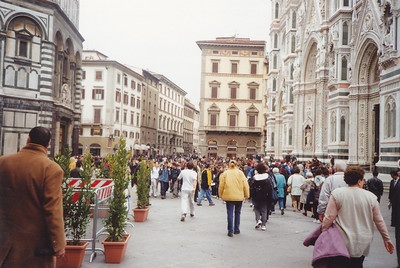 Plaza in front of Duomo