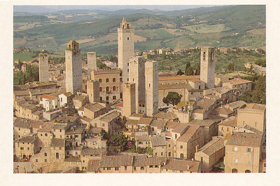 City of Towers--San Gimignano--were 72 towers in olden days but only 13 remain