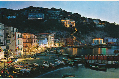 Night view of part of Sorrento