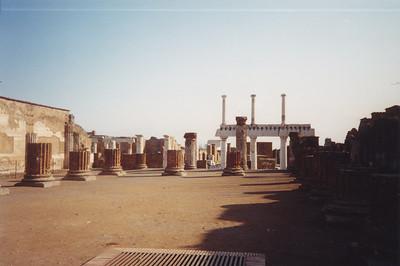 At Pompeii Ruins