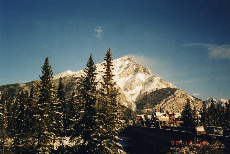 Mt. Cascade, Banff