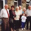 Cousin Gwyneth with some of our Pentre, South Wales, cousins