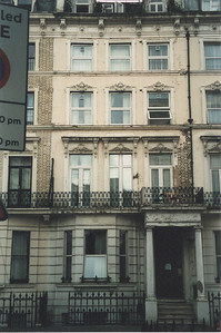 The flat I stayed in during my student teaching, with 3 other Americans.  Earl's Court London