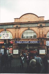 The Tube station I used to get to work.