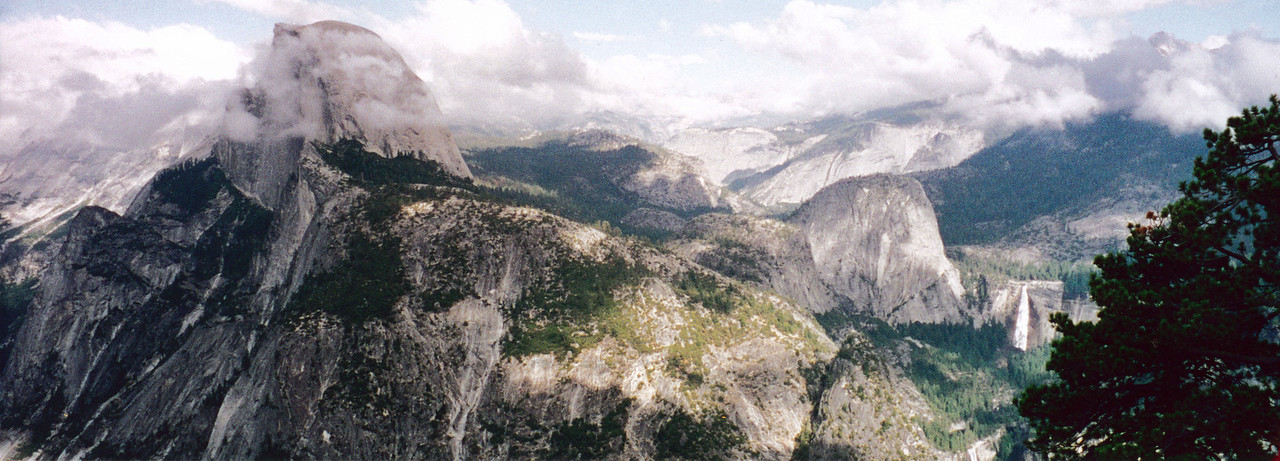 View from Glacier Point.