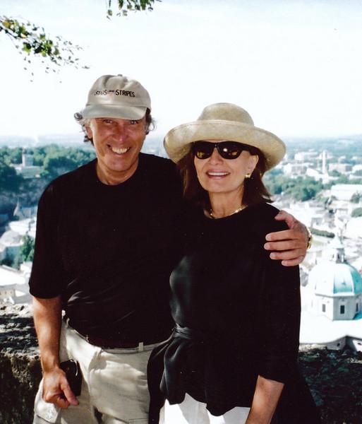 SALZBURG: Atop the Hohenslzburg fortress overlooking Salzburg.