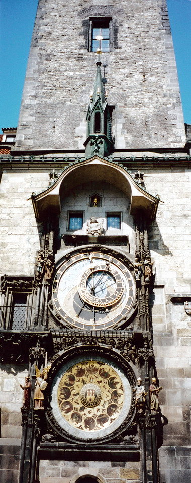 PRAGUE: Old Town Hall with Astronomical Clock.