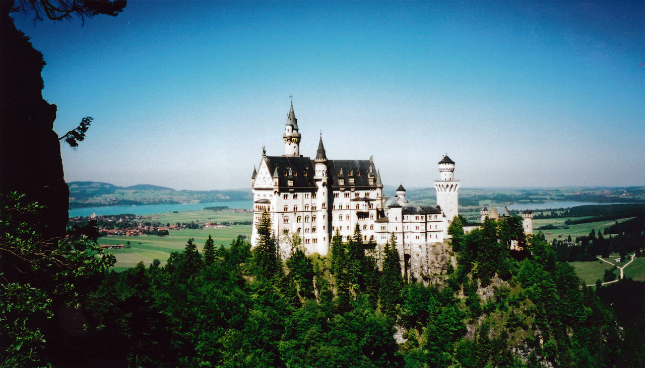 MUNICH: Neuschwanstein Castle about 2 hours from Munich.<br /> Used as the model for the castle in Disneyland.