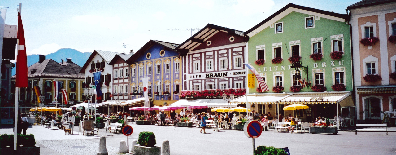 SALZBURG: The town of Mondsee.