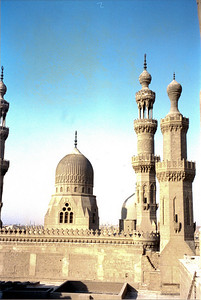 Taken on my trip to Egypt in the spring of 2001. This is a mosque that my cab driver turned tour guide showed me.