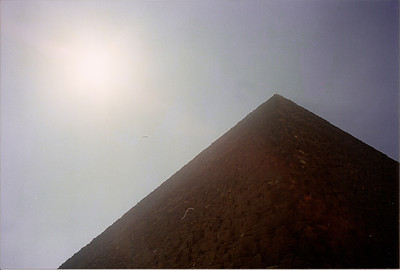 Taken on my trip to Egypt in the spring of 2001. A very hot and hazy day.