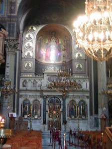 0016 Athens inside Cathedral