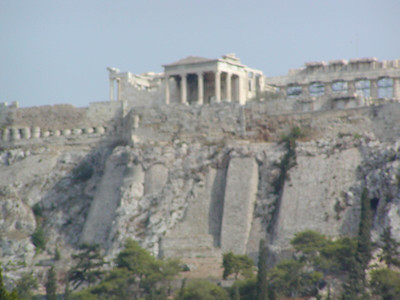 00005 Athens Acropolis from Plaka