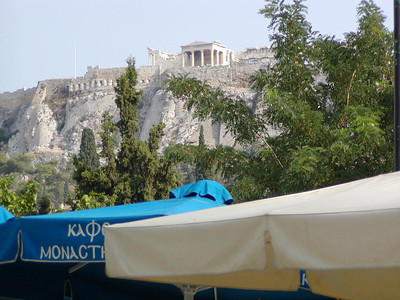 0010 Athens Acropolis from Plaka