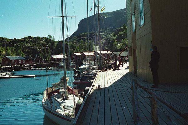 Nussfjord Harbor