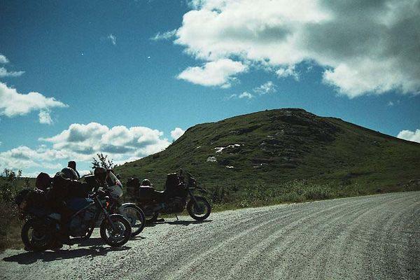 Mountainroad near Rukjan