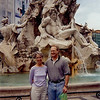 May 19:  Piazza Navona, Four Rivers Fountain; Rome