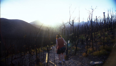 Climbing Bluff Knoll Stirling Ranges National Park Southwest Australia