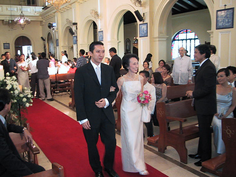 Visit to Philippines to Attend Manolet's Wedding - June 2002