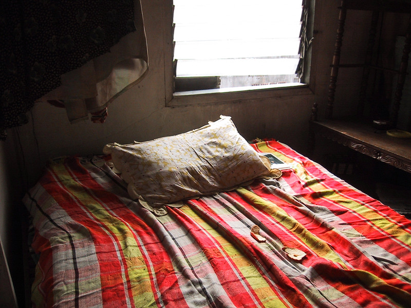 Caloocan City Manila, 2002<br /> This is a memorable bedroom at Mama Rosa's residence that I home-stayed back in 1989, slept together with her legitimate tenant (it is hospitality!)