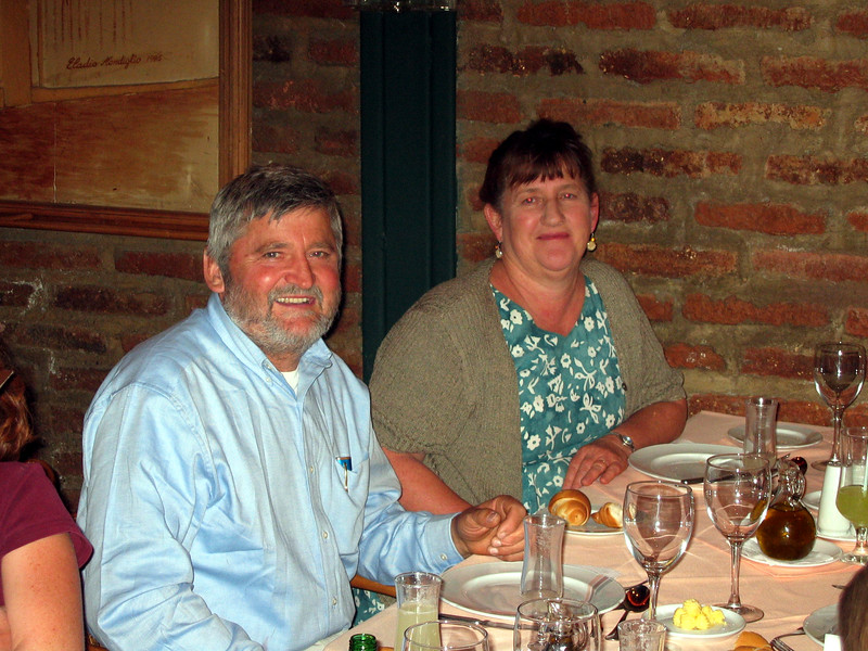 Santiago, Mom and Dad's anniversary