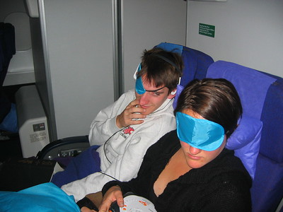 Flight to Lima, 1 minute before Erich gets severe air sickness